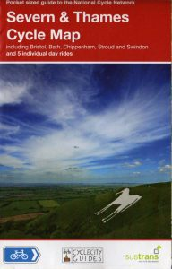 Severn and Thames Sustrans Cycle Map