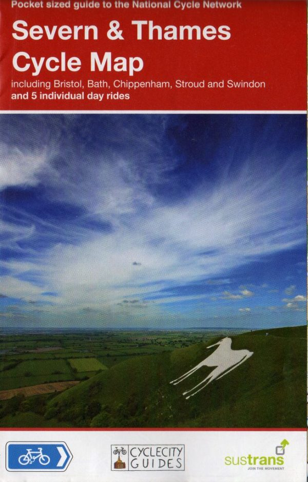 Severn and Thames Sustrans map