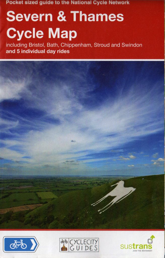 Wiltshire cycle route maps and guide books