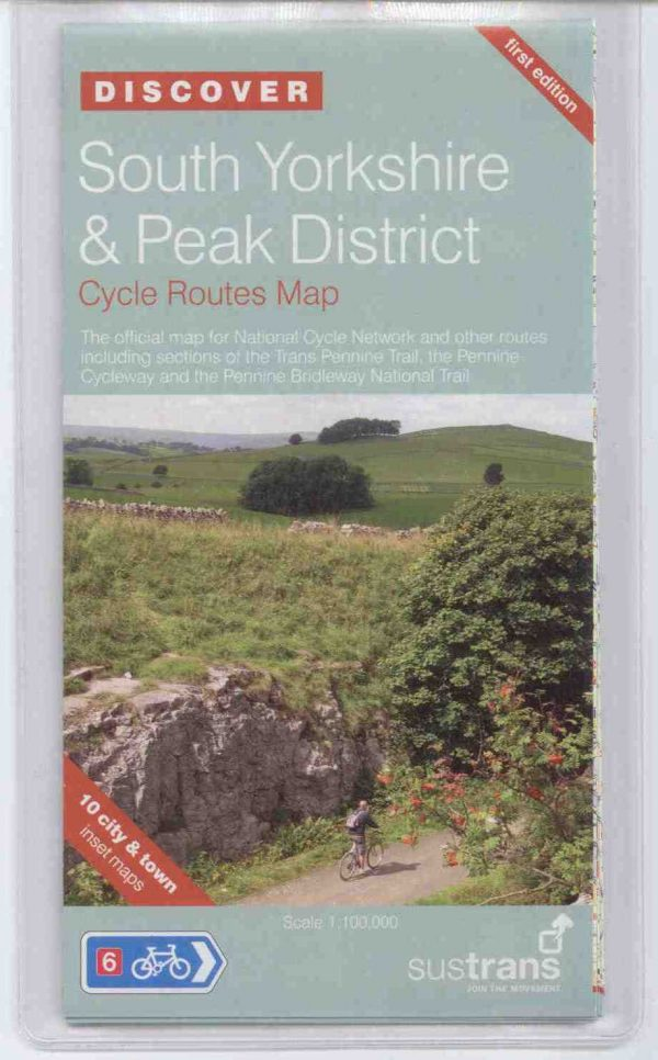 South Yorkshire & Peak District Sustrans cycle Map
