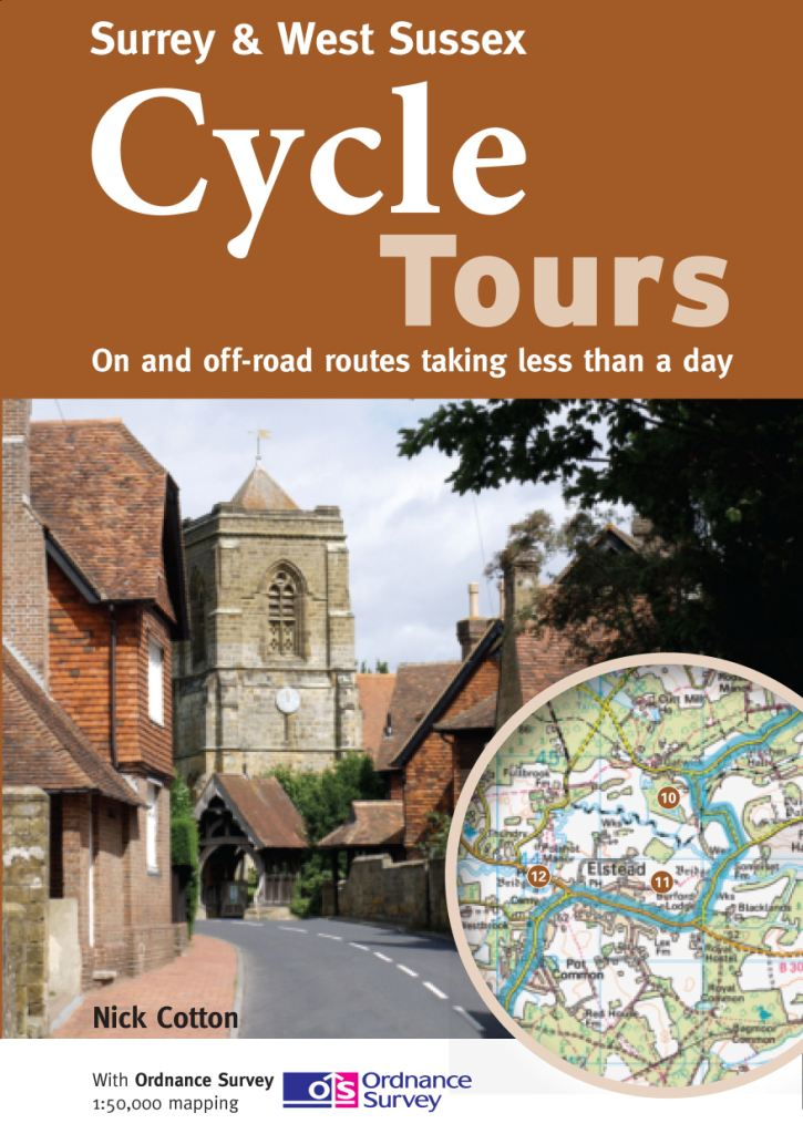 Surrey cycle route maps and guide books