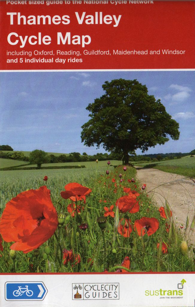 Berkshire cycle route maps and guide books