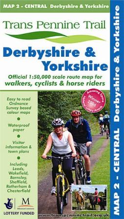 Trans Pennine Trail cycle route maps and guide books