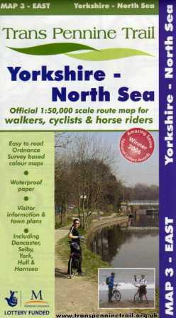Trans Pennine Trail East map