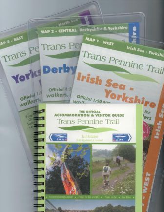 Trans Pennine Trail Maps and Guide Book