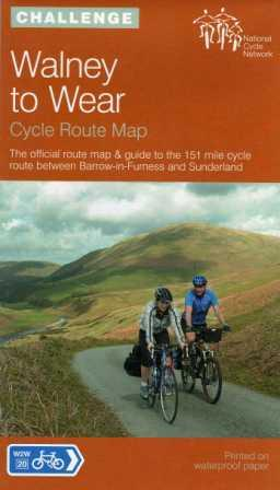 Walney to Wear Cycle Route map