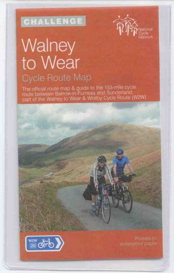 Walney to Wear Sustrans Map
