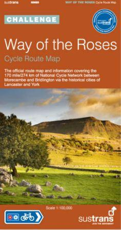 Way of the Roses cycle route map