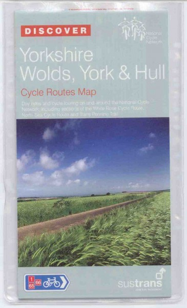 Yorkshire Wolds - York and Hull Sustrans Map