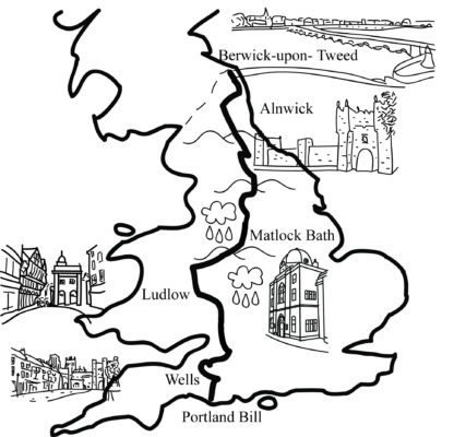 The Full English - map of route