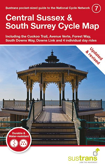 Central Sussex and South Surrey Sustrans cycle map 7