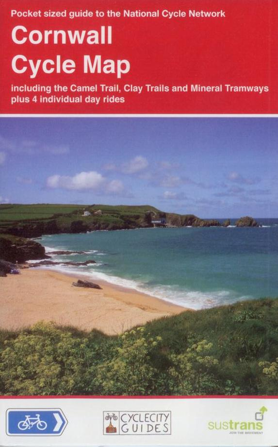 Cornwall Sustrans map