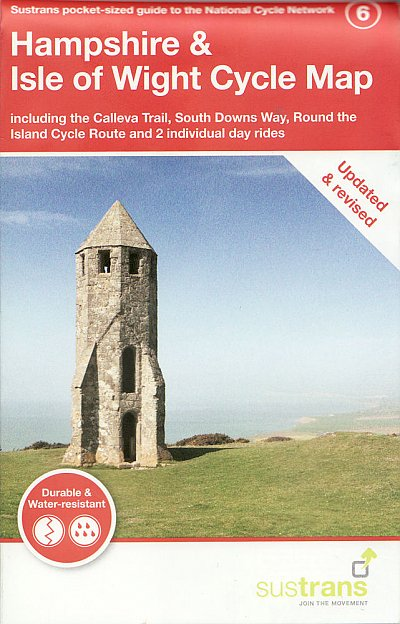 Hampshire and Isle of Wight Sustrans map 2021