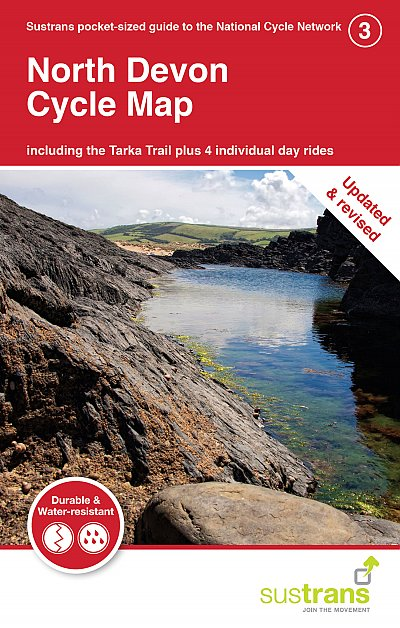 North Devon Sustrans map