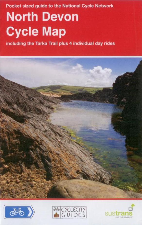 North Devon Cycle Map, Sustrans