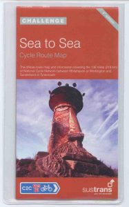 C2C Sea to Sea Sustrans cycle map