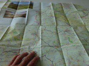 Somerset Levels Sustrans map 2021 - sample