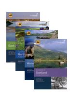 The AA cycle guide books