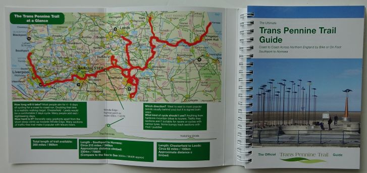 Trans Pennine Trail Guide Book - the route
