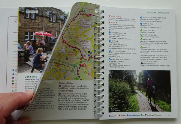 Trans Pennine Trail sample pages