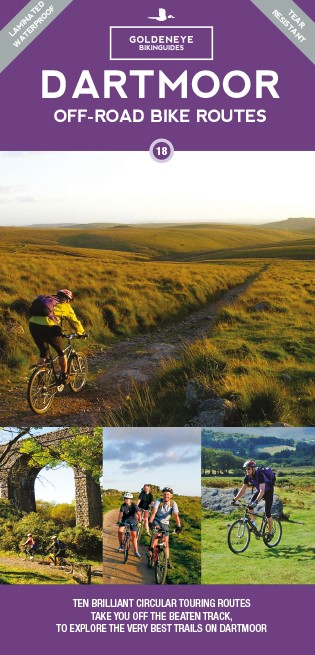 Dartmoor Off-Road Bike Routes Goldeneye Map