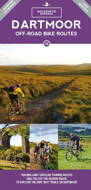 Dartmoor Off-Road Bike Routes Goldeneye Map