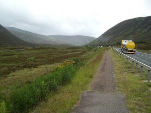 Lochs and Glens cycle route through the Cairngorms