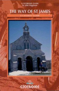Way of St James Cicerone cycle guide book