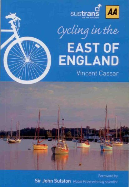 Cycling in the East of England, The AA, 2012 edition