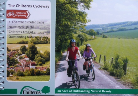 Chilterns Cycleway The essential guide to cycling all or part of this beautiful 173 mile route through the Chilterns Area of Outstanding Natural Beauty. The Chilterns Cycleway Guidebook is a must for anyone planning to cycle the route. The Guidebook contains 23 pages of 1:50,000 Ordnance Survey mapping for the 173 mile route so that you should not have to purchase any additional maps. There is also lots of information on pubs, cafes and attractions around the route.