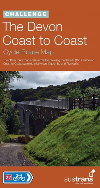 Devon Coast to Coast Sustrans map 2012
