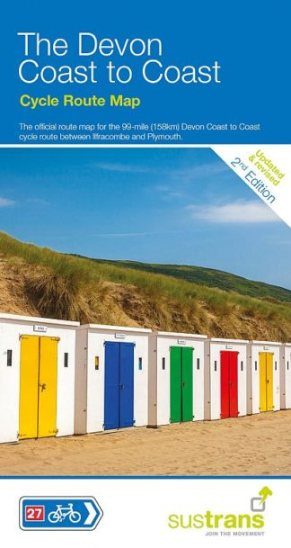 Devon Coast to Coast Sustrans map 2017