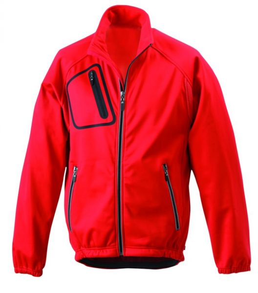 Windstopper cycle jacket