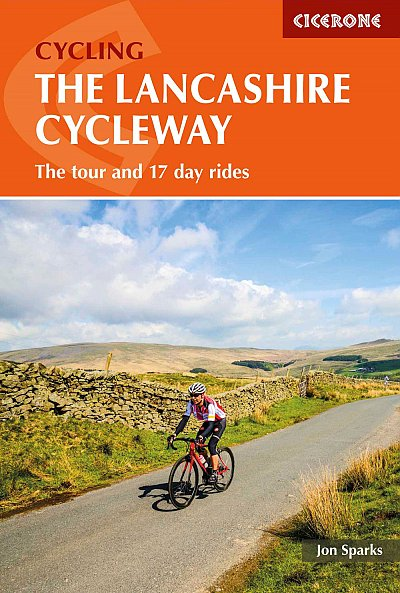 Lancashire Cycleway guide book