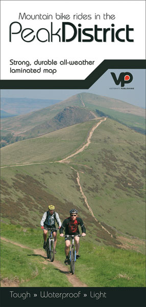 Peak District Mountain Bike Rides Map