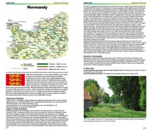 Cycling Northern France guide book - Normandy Greenways