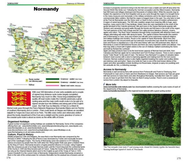 Cycling Northern France - Normandy Greenways