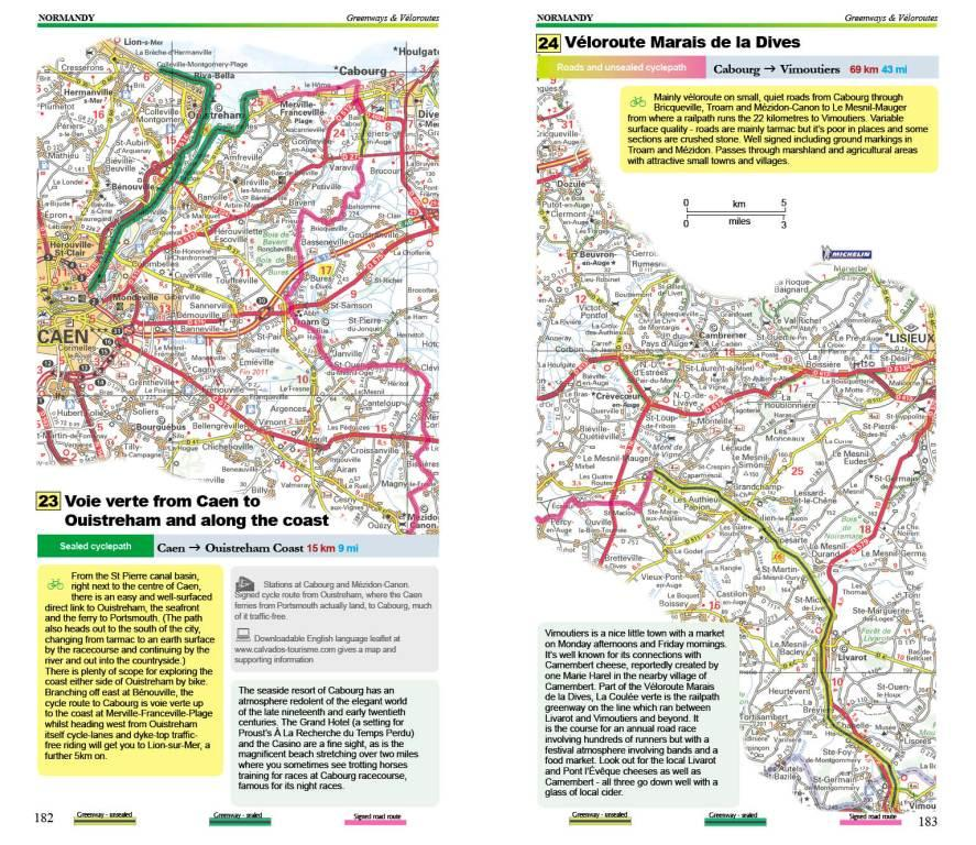Map Of North France.Cycling Northern France Guide Book Excellent Books By Richard Peace