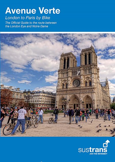 Avenue Verte cycle guide book 2017