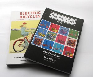 Brompton and Electric Bike books available together at a discount price