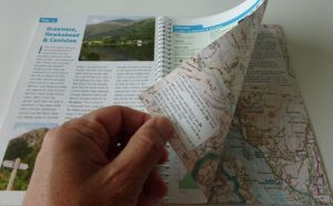 Lake District Cycle Tours, example page