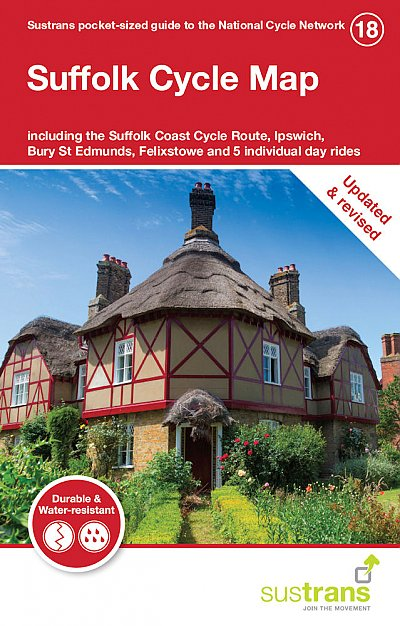 Suffolk Sustrans Cycle Map