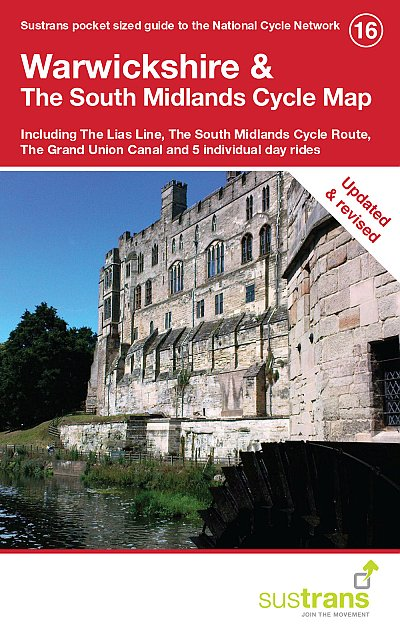 Warwickshire and the South Midlands Sustrans Cycle Map