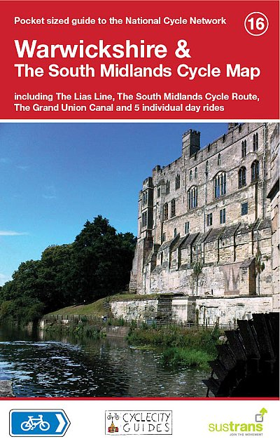 Warwickshire, The South Midlands Sustrans cycle map