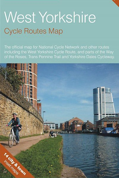 West Yorkshire Sustrans Cycle Map
