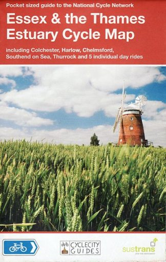 Essex and the Thames Estuary cycle map, Sustrans