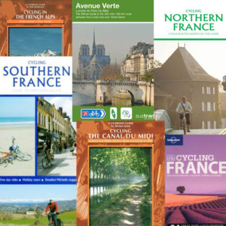 France cycle route maps and guide books