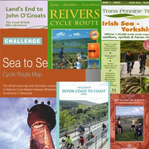 Bike Ride Maps - cycle maps and cycle touring guide books