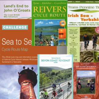 Long-distance cycle route maps and guide books
