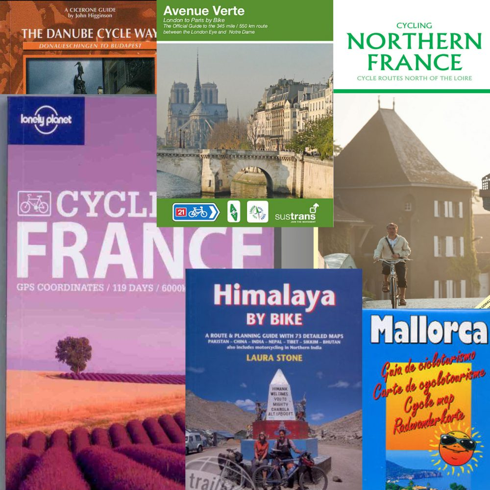 European and world cycle routes - Ireland, France, Danube, Spain, Italy, New Zealand